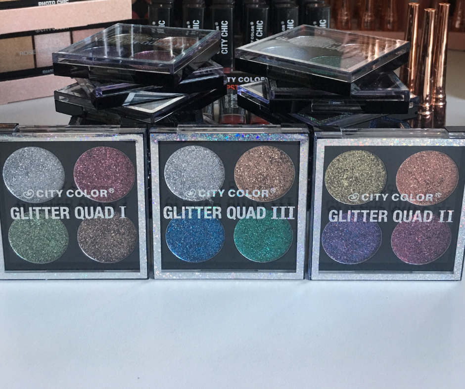 City Colour Glitter Quad - Freebies com : The Best Other