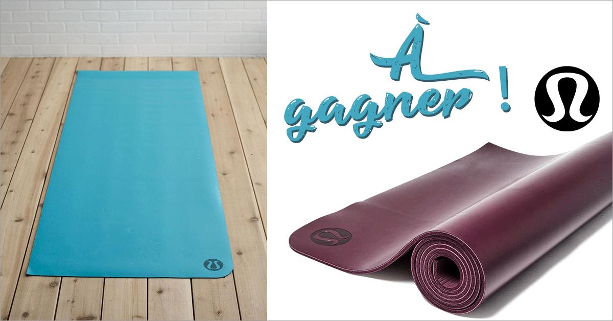Gagnez un tapis de yoga Lululemon