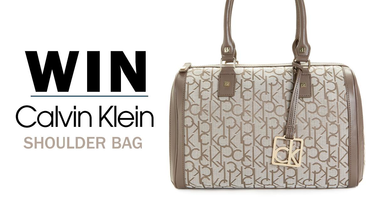 Win A Calvin Klein Bag