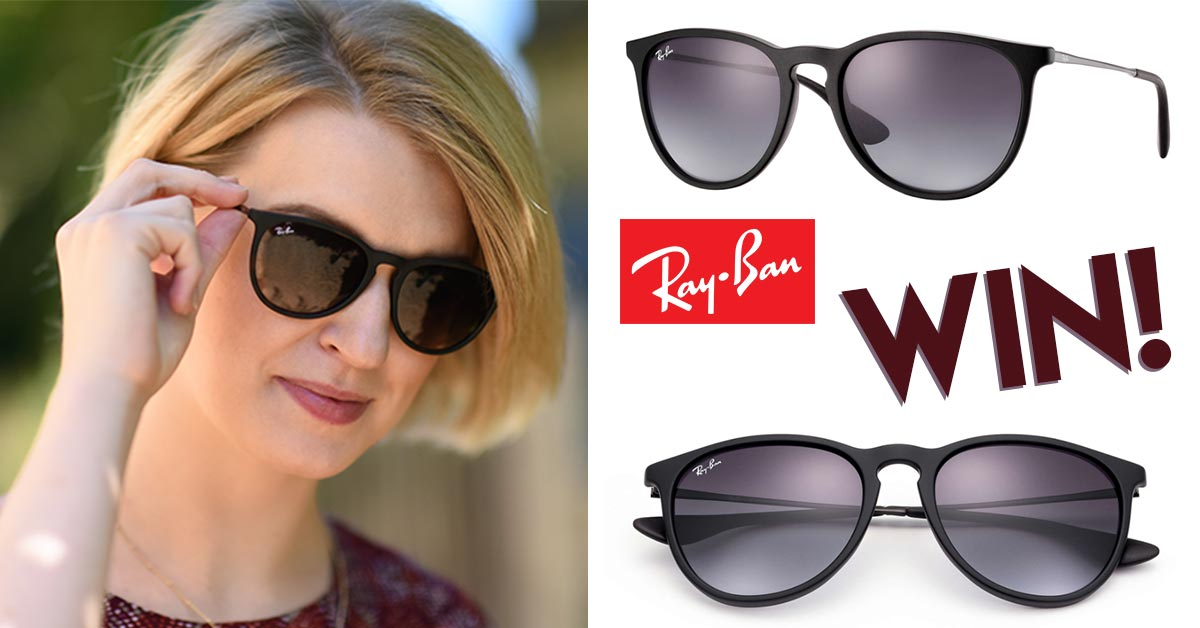 a00d1dc28ab Win Ray-Ban Erika Sunglasses - Members Only Prize Draw - Freebies.com