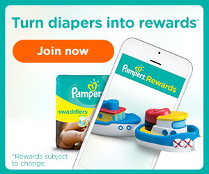 Save with Pampers Rewards