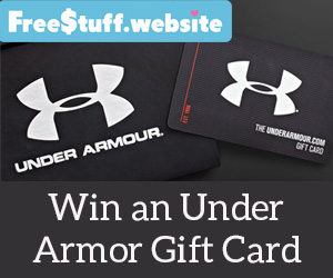 newest collection 0c4e1 34640 Win a  100 Under Armour Gift Card