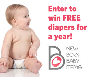 Get Free Diapers for a Year