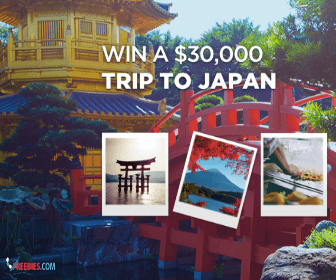 Win a Free $30,000 Trip To Japan