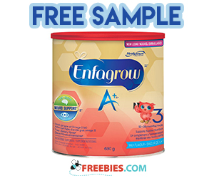 Free Sample of Enfagrow