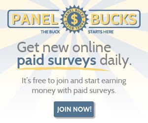 Get Money for Taking Surveys with Panel Bucks