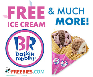 baskin robbins free ice cream on your birthday