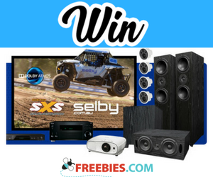 Win Speakers, Projector, Screen and More - Freebies com