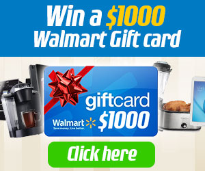 $1,000 Walmart Gift Card Giveaway: Enter Now For Your Chance