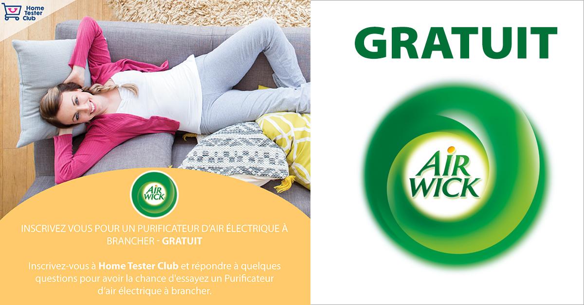 Vaporisateurs automatiques Air Wick gratuits