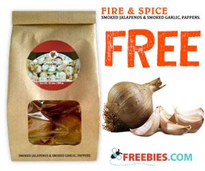 Free Sample of Smoked Garlic