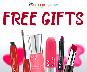 Free Gift With When You Buy 2 No7 Cosmetics Or Brushes Freebies