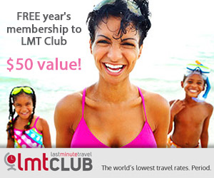 Free Membership to EXCLUSIVE Last minute Travel Deals