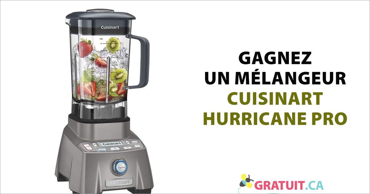 Gagnez un mélangeur Cuisinart Hurricane Pro CBT 2000