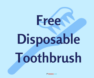 Free Disposable Toothbrush