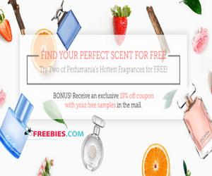 2 Free Perfume Samples