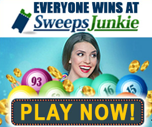 Play with SweepsJunkie for the chance to win prizes online