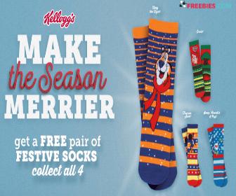 Free Socks with Kellogg's Purchase