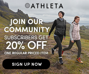 20% Off at Athleta