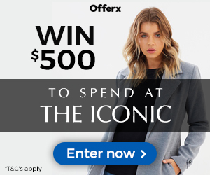 Win a $500 The Iconic Gift Voucher