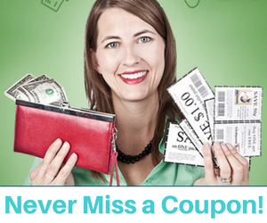 Never Miss a New Coupon