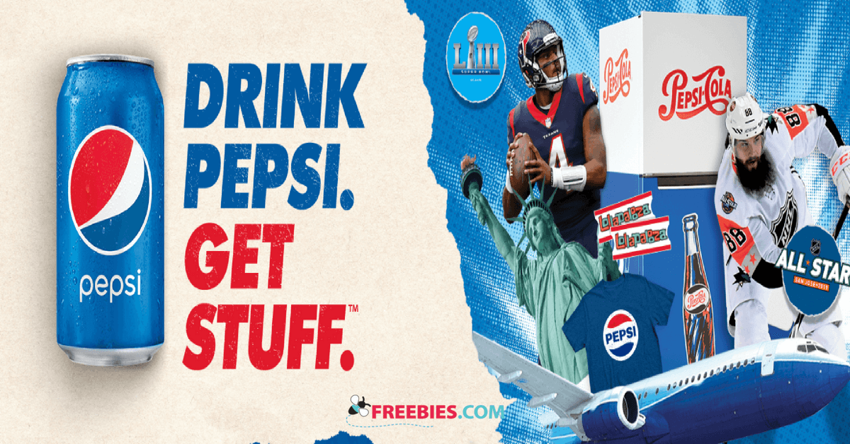 Pepsi is giving away thousands of prizes including trips, cash