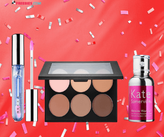 Score free beauty samples with your purchase and 50% off
