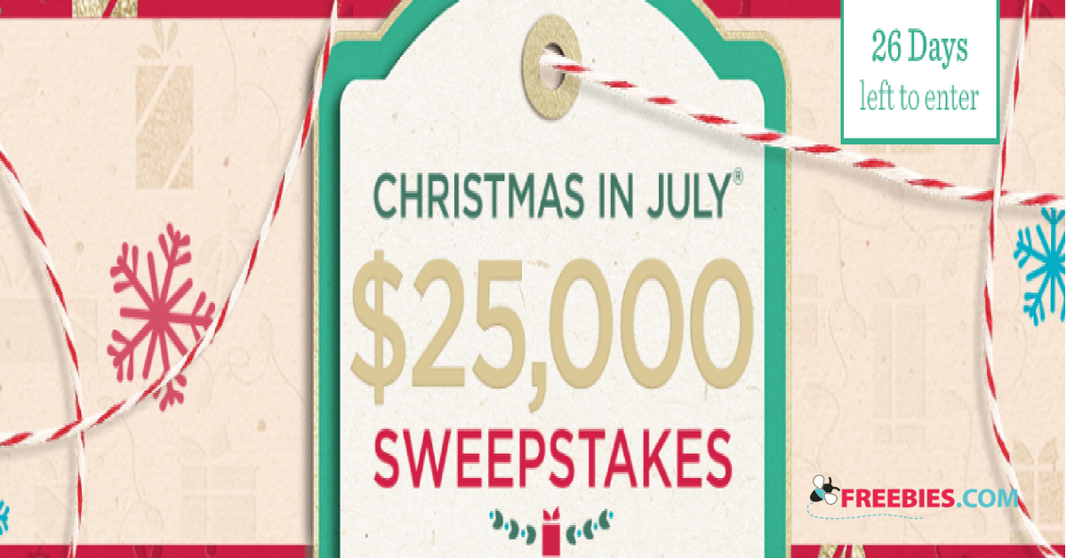Christmas In July Qvc.Play The Qvc Christmas In July Sweepstakes For The Chance To