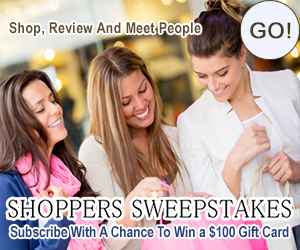 Earn a $100 Gift Card from Shoppers Sweepstakes