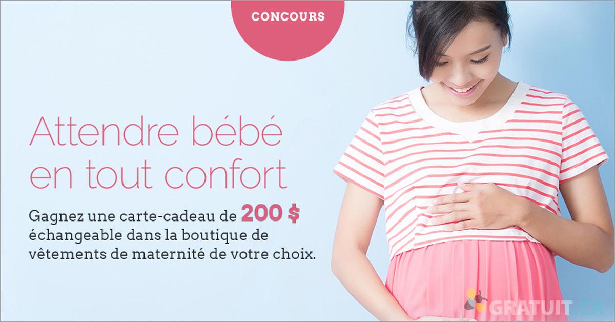 Gagnez une carte-cadeau pour future maman