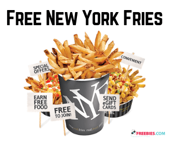 Win Free Food from New York Fries