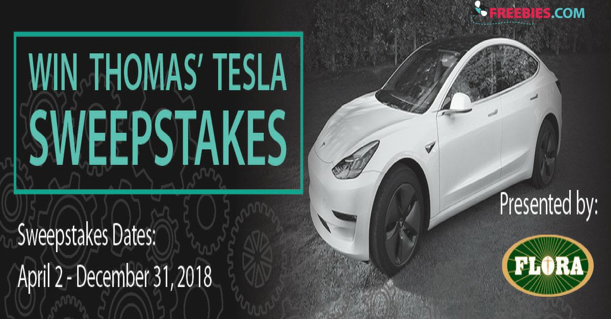 Win a Tesla Model 3