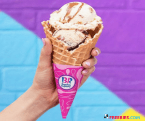 Free Scoop at Baskin Robbins