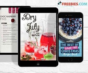 Free Natvia Sugar- Free Cookbooks