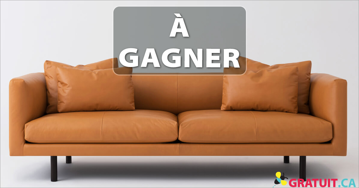 Gagnez un chic sofa en cuir EQ3