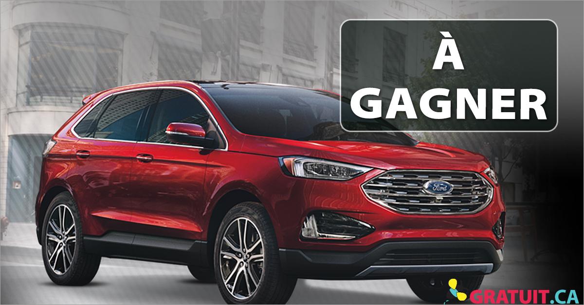 Gagnez une Ford Edge Titanium 2019