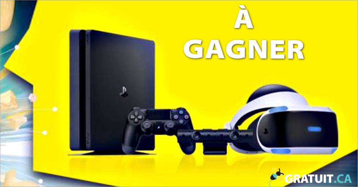 Gagnez un ensemble Playstation VR