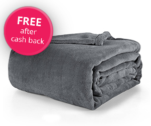 Free Fleece Blanket with Sign Up