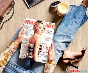 Free Issue of Marie Claire Magazine