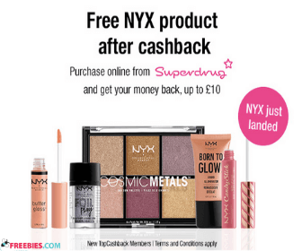 Free NYX Beauty Product with Sign Up