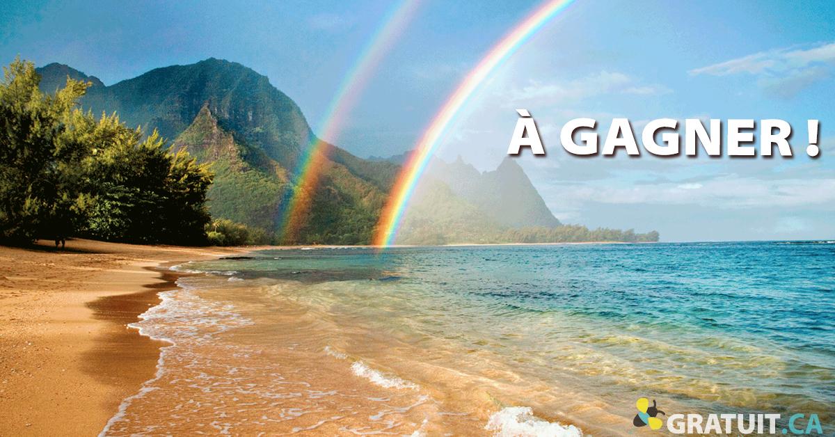 Gagnez un incroyable voyage à Hawaii!
