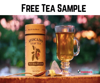 Free Avocado Leaf Tea Sample