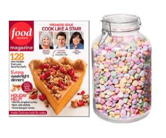 Free Food Network Magazine & Win $500