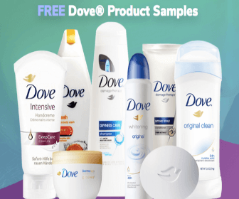 Free Dove Product Samples