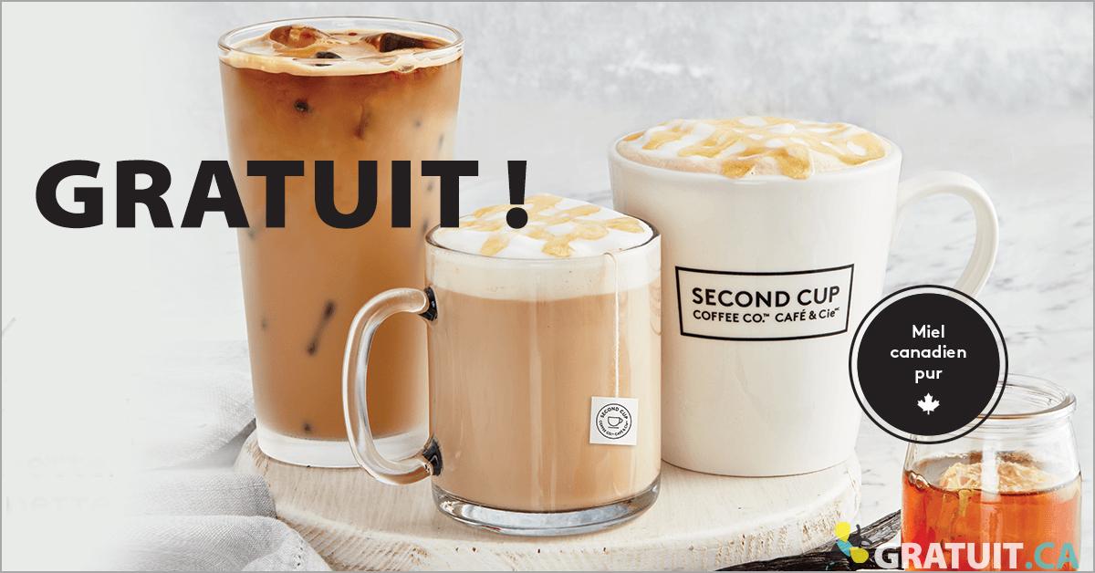 Café Second Cup gratuit!