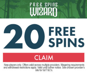 Claim 20 Free Spins with Free Spins Wizard