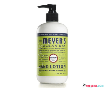 Free Hand Lotion with Sign Up