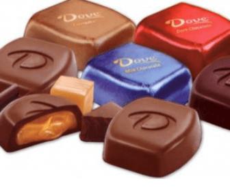 BOGO Free Dove Chocolate