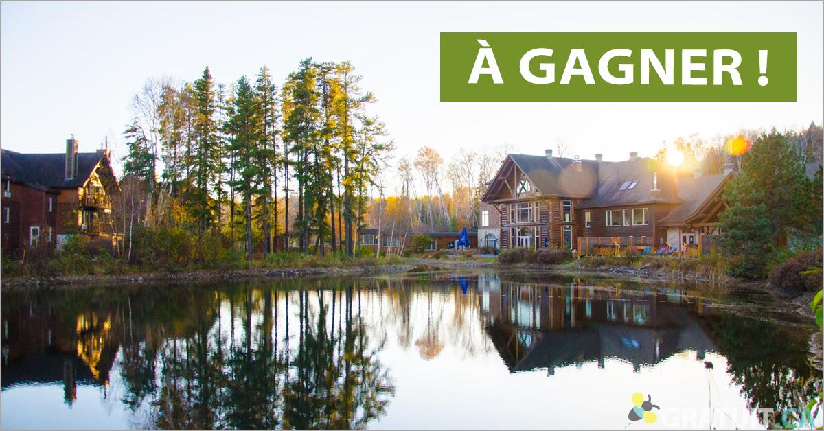 Gagnez un séjour en famille à l'Auberge du lac Taureau