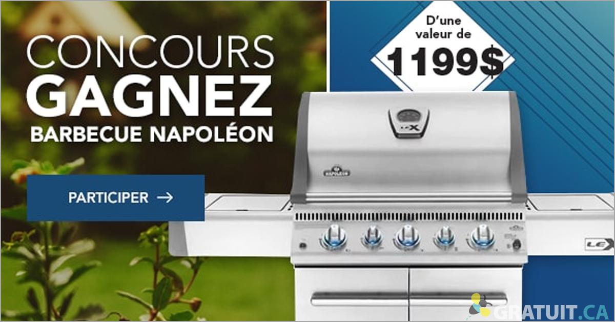 Gagnez un barbecue Napoléon